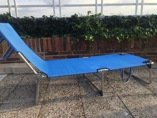 Tumbona nueva para terraza y jardín