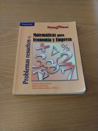 Matemáticas para Economía y Empresa