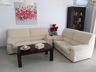 Conjunto sofá 3+2 o venta por separado