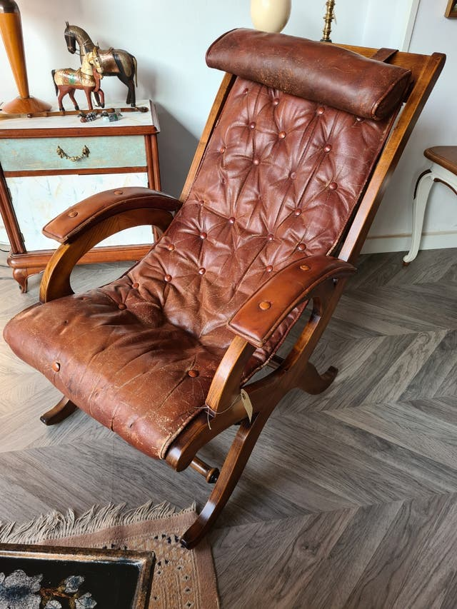 Sillon antiguo estilo chester
