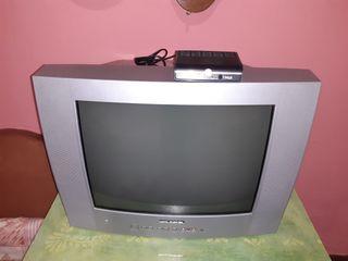 Televisión Grunkell y TDT marca Nevir.