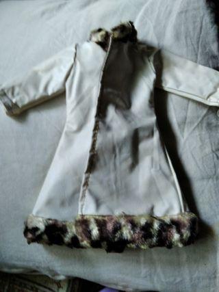 muñeca Nancy abrigo
