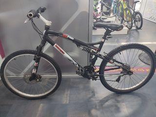 Bicicleta De Montaña Aluminio 26 Heat Treadled 700