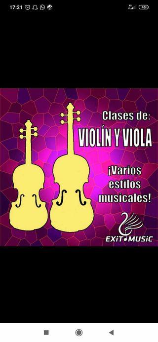 Clases de violin y viola