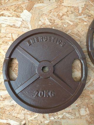 Discos 20kg