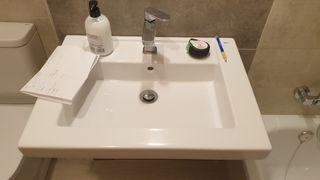 lavabo roca prisma 60cm impecable