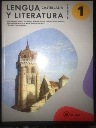 Libro de lengua castellana y literatura 1 Bach