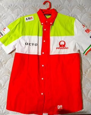 Camisa Oficial MotoGP Equipo Italiano Pramac