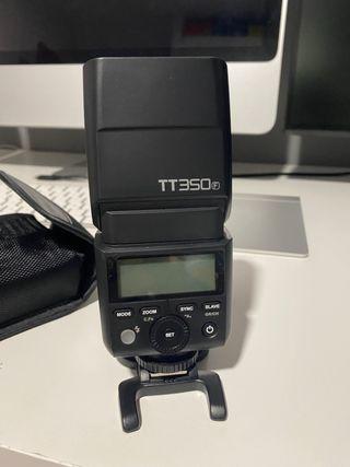 Flash Godox TT350 para Fujifilm