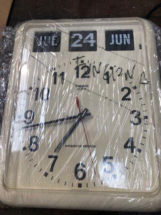 Reloj de pared flip twemco bq12 no funciona