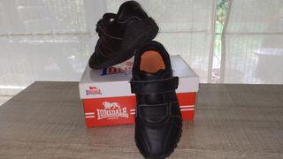 Zapatillas Lonsdale negras N:31.Calzado niño
