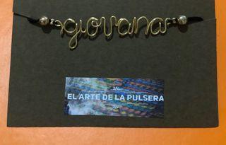 Pulsera personalizada con nombre giovana
