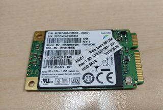 disco duro Samsung ssd m2 mini pci express 64gb
