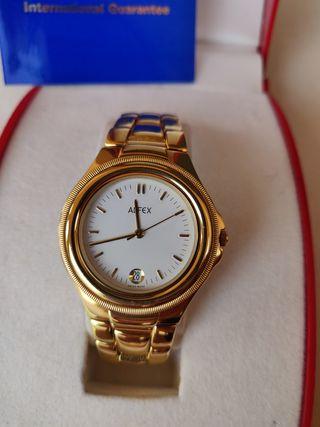 Reloj Suizo mujer bañado en oro