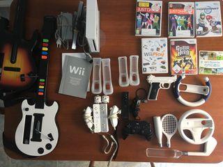 Pack Wii: consola, juegos y complementos