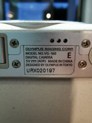 cámara fotos olympus