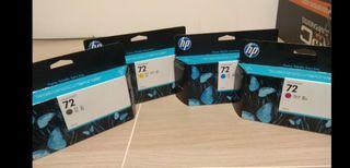 Cartuchos tinta plotter HP design