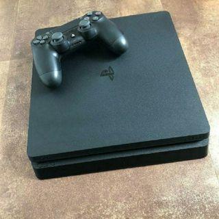 PLAYSTATION 4 SLIM (PS4) + 2 MANDOS OFICIALES SONY