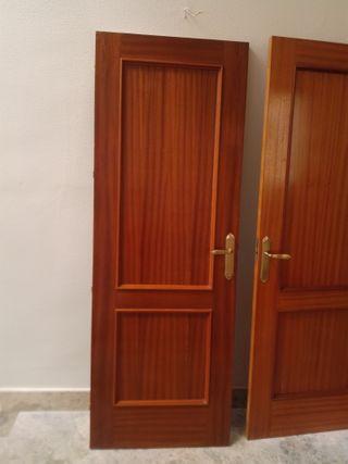 Puertas de interior con manilla