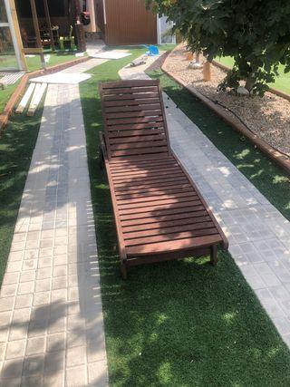 Tumbona/Hamaca de madera