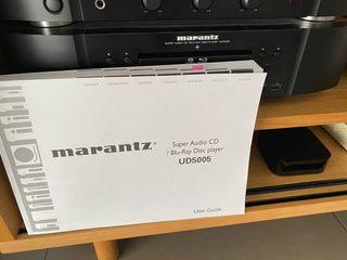 Reproductor CD/SACD/DVD/BD Marantz UD5005