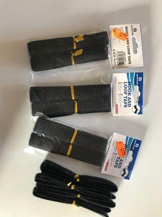 4 paquetes cinta adhesiva Hook & Loop