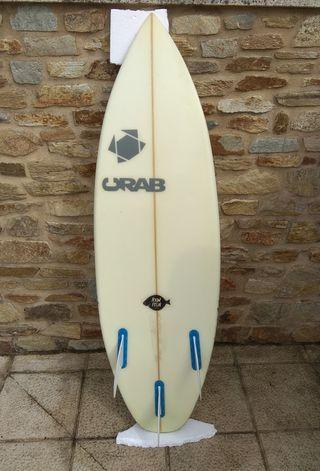 Tabla surf 4'8'' crab surfboard