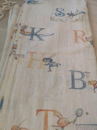 Barra y cortinas infantiles Zara