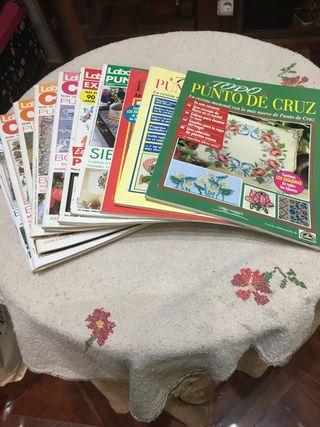 Revistas Punto de Cruz, 4€ todas