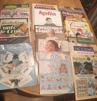 24 revistas.