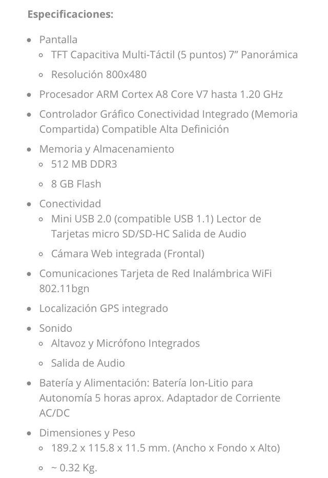 Tablet Airis 7 TAB 735