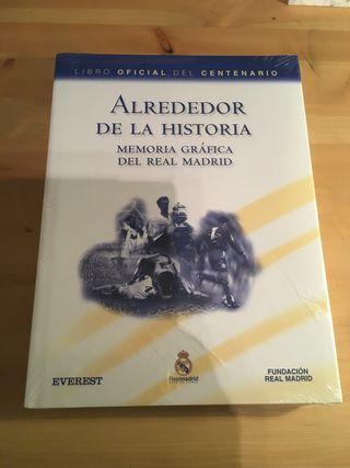 REAL MADRID, LIBRO ALREDEDOR DE LA HISTORIA. NUEVO