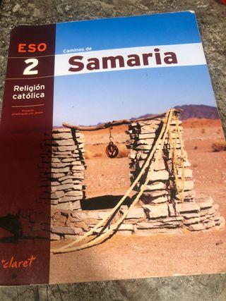 Religión 2 eso caminos de samaria