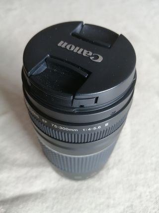 Objetivo Canon 75-300 F4.0-5.6