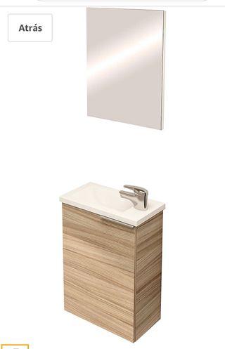 Mueble, lavabo y espejo NUEVO