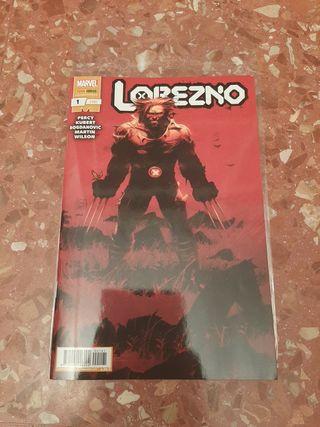 Lobezno 1. Comic Marvel.