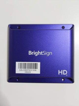 2 reproductores hd223 cartelería digital