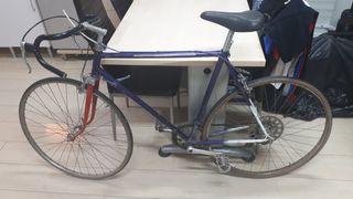 Bicicleta carretera antigua fixie