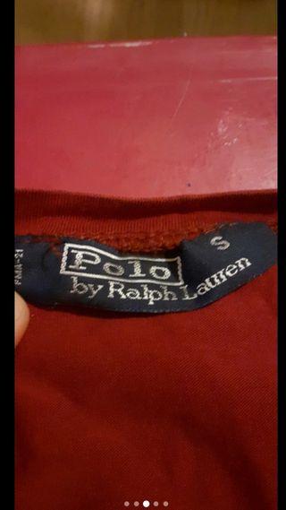tee shirt ralph loren rouge