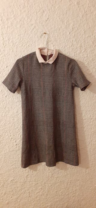 robe vintage à carreaux