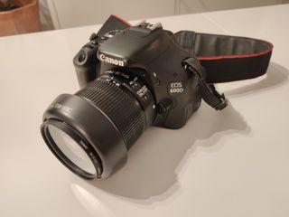 Canon 600d + objetivo 18-55 mm
