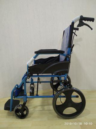 Silla aluminio rueda pequeña.Nueva.665371509