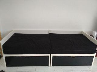 sofa cama plegable modular