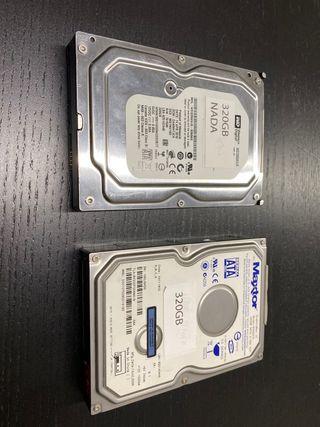Vendo discos duros 320gb Sata 3