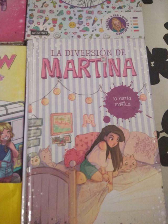 libros Elashow y la diversión de Martina