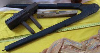 Herramientas de carpintería. Viejas