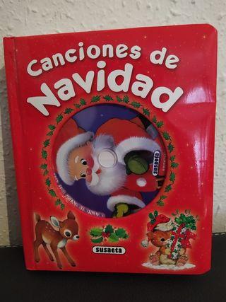 Libro de canciones de navidad con cd