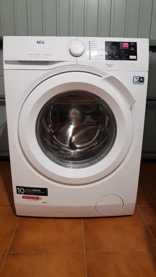 Lavadora AEG 8 kg