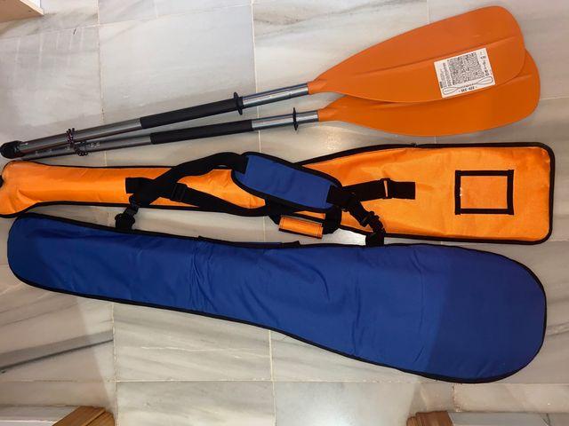 Kayak hinchable decathlón