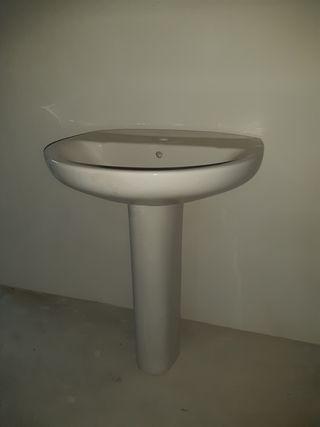 Lavabo porcelana blanco Roca